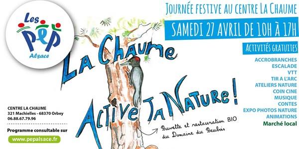 Découvrez le centre La Chaume lors de notre événement