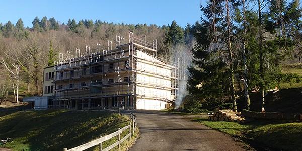 Avancement des travaux à La Roche