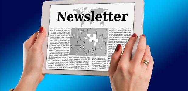 5 bonnes raisons de s'inscrire à notre newsletter